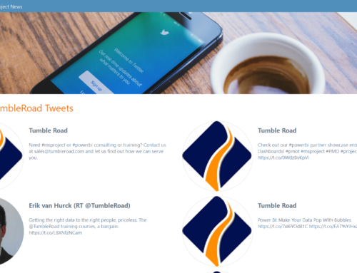 Tumble Road Project News App Updated!
